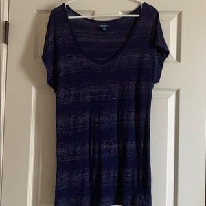 Old Navy scoop neck slouch tee
